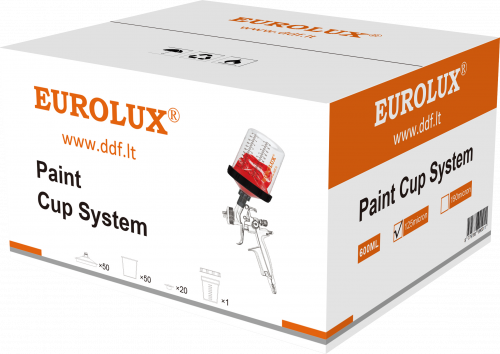 Eurolux Paint Cup System
